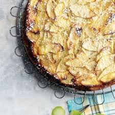 There Is Just Enough Batter To Hold The Apples Together In This French Style Apple