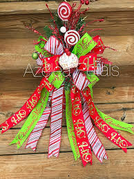 Present Christmas Tree Topper Cupcake Candy Cane And Lime