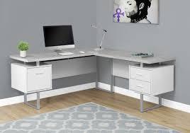 Wayfair Corner Desk White by Latitude Run Darroll L Shape Corner Desk U0026 Reviews Wayfair