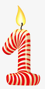 Birthday candle number 1 Birthday Celebration Celebrate Free PNG Image