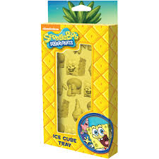 Spongebob Halloween Dvd Walmart by Spongebob Squarepants Ice Cube Tray Walmart Com