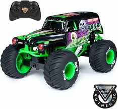 100 Monster Truck Grave Digger Videos Jam Official Rc 110 Scale Lights Sounds Battery USB