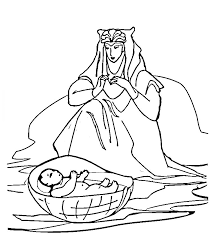 Moses 1 Coloring Page