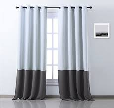 108 Inch Long Blackout Curtains by Nicetown Mix And Match Window Treatment Thermal Insulated Block