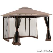 Amazon.com: Mosquito Netting Screen For 10' X 12' Gazebo: Garden ... Patio Ideas Deck Roof Bamboo Mosquito Net Curtains Screen Tents For Decks Best 25 Awnings Ideas On Pinterest Retractable Awning Screenporchcurtains Netting Curtains And Noseeum Pergolas Outdoor Living With Archadeck Of Chicagoland Pergola Gazebo Wonderful Portable Canopy Guide Gear Addascreen Room Youtube Outdoor Patio Canada 100 Images Air Springs Air Suspension Kits Camping World Design Fabulous With