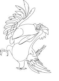 Coloriage Toucan A Imprimer Ookingatmarystowus
