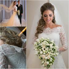 white wedding dresses long sleeves wedding gown lace wedding gowns