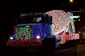 100 Lights For Trucks WATCH Largest Ever Big Truck Parade Lights Up Campbell