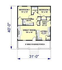 2 Bedroom Cabin Plans Colors 104 Best House Plans Images On Pinterest Architecture Beach