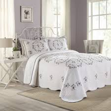 Kohls Jennifer Lopez Bedding by Peking Gwen Quilted Bedspread Coordinates