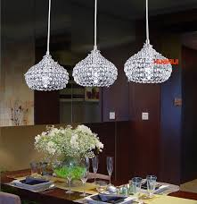 New Modern Elegant Crystal Bar Suspension Lighting Pendant Lamp Dining Room Kitchen Restaurant Light In Lights From On