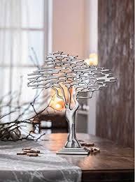 de sidco design baum metall silber dekobaum afrika