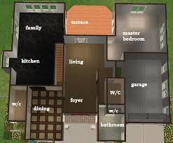 Sims 3 Floor Plans Small House by Sims 3 4 Bedroom House Design Memsaheb Net
