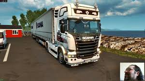 ETS 2 SCANİA 🚛 Retarder Sound + Double Trailer - YouTube