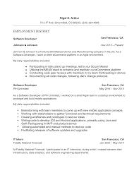 100 Agile Resume Guide Software Developer 12 Samples Word PDF 2019