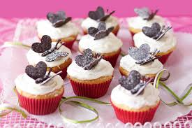 Choc Chip Butterfly Cupcakes