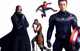 Avengers Infinity War Captain America Chris Evans Danai Gurira Nick Fury Okoye Marvel Comics