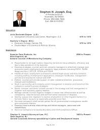 Resume Samples For Highschool Students Canada In Example Sample Directory Lawyer Corporate Attorney Examples
