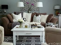 Brown Living Room Ideas by Decorating With Brown Couches Http Www Simplycarmenrenee Com
