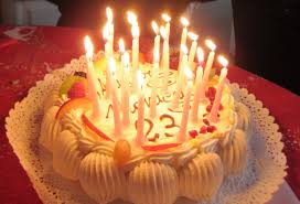 File Italy birthday cake with candles 5