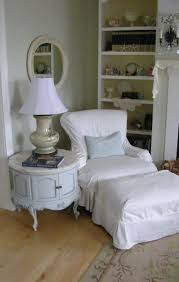 Shabby Chic Dining Room Chair Covers by Maison Decor Shabby Chic Slipcover Style
