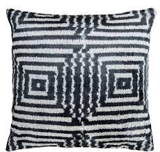 casa padrino luxus kissen mod2 schwarz weiß 40 x 40 cm wohnzimmer deko accessoires