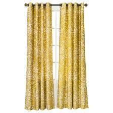 paisley curtain panel yellow threshold target
