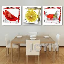 Canvas Wall Art For Dining Room by Aliexpress Com Buy 3 Panel Modern Wall Art Dining Room