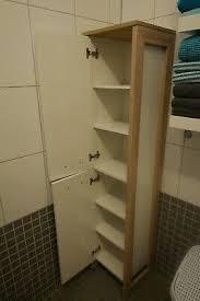 aldi badezimmerschrank hochschrank für handtücher braun