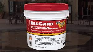 Tile Guard Grout Sealer Home Depot by How To Use Redgard Liquid Waterproofing And Prevention