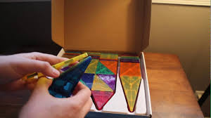 Magna Tiles Amazon Uk by Picasso Magneetic 3 D Tiles Review Youtube