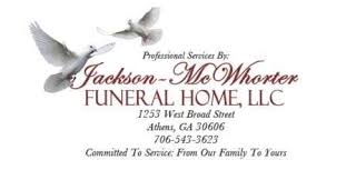 Jackson McWhorter Funeral Home Inc