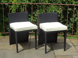 Amazon.com : Set Of 2 Patio Resin Outdoor Wicker Side Chair ... Adams Manufacturing Quikfold White Resin Plastic Outdoor Lawn Chair Semco Plastics Patio Rocking Semw 5 Pc Wicker Set 4 Side Chairs And Square Ding Table Gray For Covers Sets Tempered Round 4piece Honey Brown Steel Fniture Loveseat 2 Sku Northlight Cw3915 Extraordinary Clearance Black Bar Rattan Small Bistro Pa Astonishing And Metal Suncast Elements Lounge With Storage In