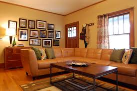 Brown Leather Sofa Decorating Living Room Ideas by Decoration Ideas Interior Living Room Great Ideas On