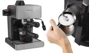Mr Coffee 4 Cup Steam Espresso And Cappuccino Maker