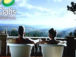 curious about the bath tubs in cialis commercials cbs boston