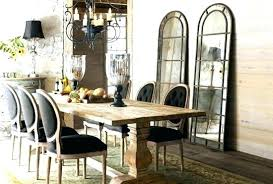 Rustic Chic Dining Room Furniture Tables Elegant Captivating Rus