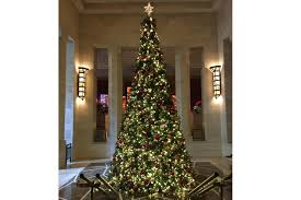 9 Fraser Fir Artificial Christmas Tree by Best Christmas Hotels For Spending The Holidays In Nyc