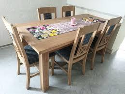 esszimmertisch mit 8 stühlen holz pinie in lertheim