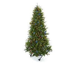 75 Flocked Slim Christmas Tree by 7 Christmas Tree Christmas Decor
