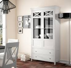 Modern Solid Wood Display Cabinet 28 Finish Options