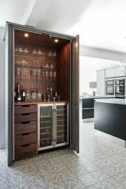 modern kitchen design minibar moderne hausbar küche mit