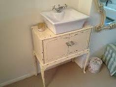 Shabby Chic Bathroom Vanity by Antique White Shabby Chic French Bathroom Vanity Unit Sink Drawers