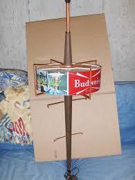 Stiffel Floor Lamps Ebay by 1959 Budweiser Pole Lamp Ebay I Don U0027t Like Budweiser But I Love