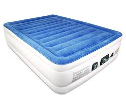 Aerobed Raised Queen With Headboard by Costco Inflatable Bed Bedroom Costco Inflatable Mattress Natural