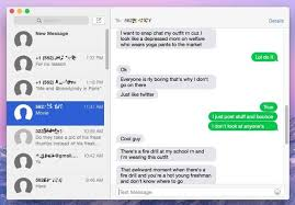 Now thanks to SMS Relay you can send text messages directly from the Messages app on your Mac