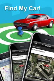 Find My Car iPhone Application