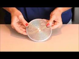 Oxo Sink Strainer Stopper by Oxo Good Grips Shower Stall Drain Protector Youtube
