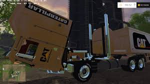 100 Gta 5 Trucks And Trailers CAT TRUCK TRAILER 30000 LITERS MOD For LS1 Farming