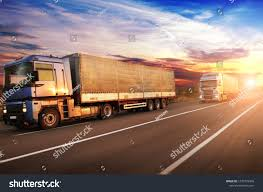 100 Big Trucks Pictures Motion White Trailers Space Stock Photo Edit Now